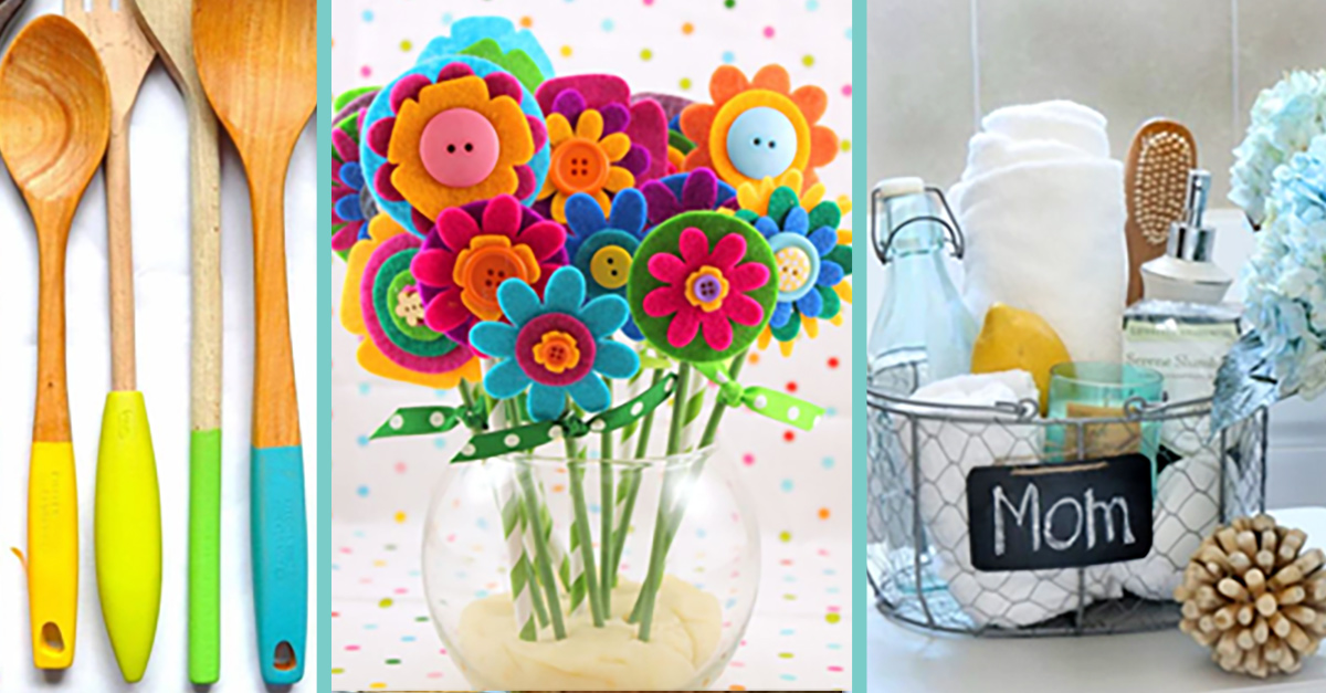 34 Easy Diy Mothers Day Gifts That Are Sure To Melt Her Heart