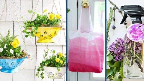 35 Inexpensive DIY Mothers Day's Day Gifts | DIY Joy Projects and Crafts Ideas