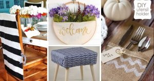 41 No Sew Home Decor Ideas