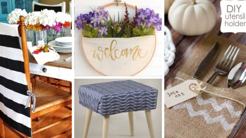 41 No Sew Home Decor Ideas | DIY Joy Projects and Crafts Ideas