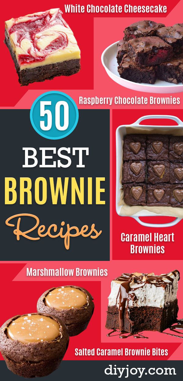 Brownie Recipes | Easy and Healthy Recipe Ideas for Brownies - Iced, Chewy, Chocolate, Blondies, Gluten Free and Caramel Filled Brownie Recipes | Easy and Healthy Recipe Ideas for Brownies - Chocolate, Blondies, Gluten Free and Caramel #brownies #brownierecipes #desserts