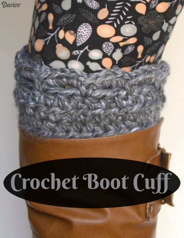 DIY Ideas For Your Boots | Crochet Boot Cuff l Cool Way to Update Old Leather Boot | Denim, Painting, Decorating Cowboy Boots