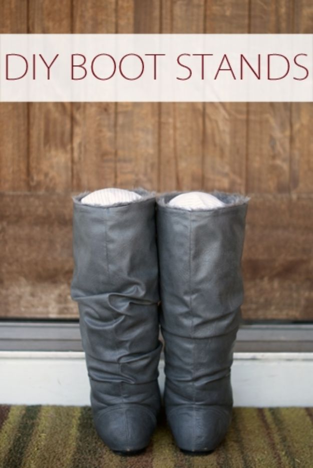 DIY Ideas For Your Boots | DIY Boot Stands l Cool Way to Update Old Leather Boot | Denim, Painting, Decorating Cowboy Boots