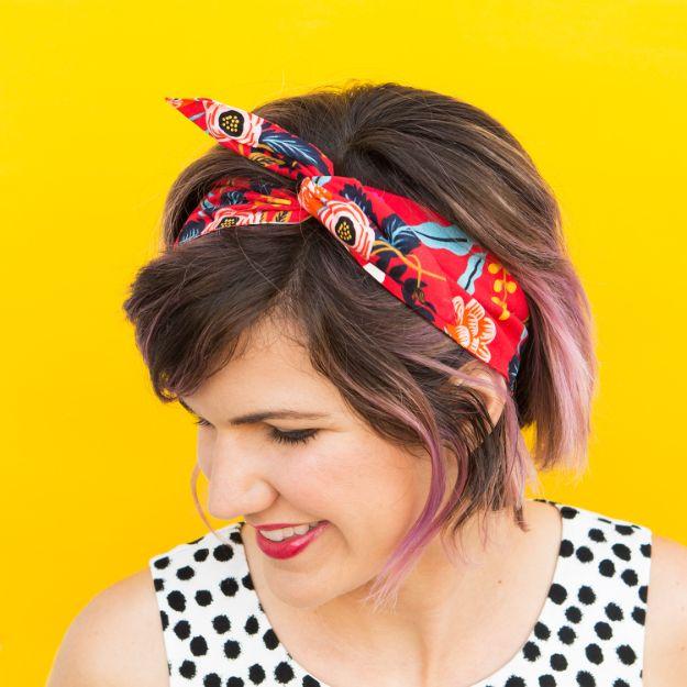 No Sew Gifts to Make - Easy DIY Christmas Presents -DIY No-Sew Wire Headband