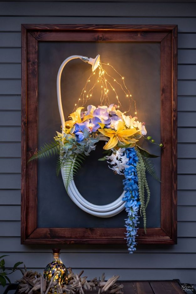 Magnolia Homes Gift Ideas - DIY Outdoor Magnetic Chalkboard - DIY Home Decor Inspired by Chip and Joanna Gaines - Fixer Upper Gifts - Do It Yourself Decorating On A Budget With Farmhouse Style Decorations for the Home