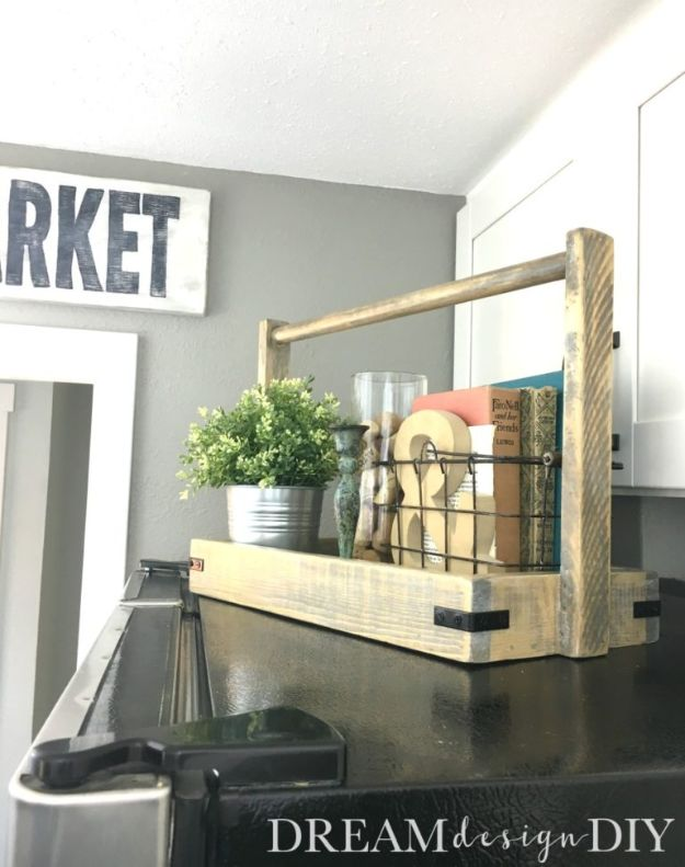 Magnolia Homes Gift Ideas - Modern Farmhouse Wood Tray - DIY Home Decor Inspired by Chip and Joanna Gaines - Fixer Upper Gifts - Do It Yourself Decorating On A Budget With Farmhouse Style Decorations for the Home