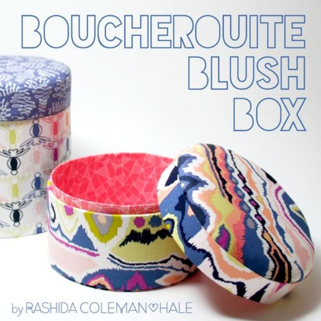 Quick No Sew Projects -No Sew Gifts to Make - Easy DIY Christmas Presents -No Sew Blush Box