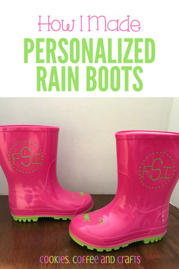 DIY Ideas For Your Boots | Personalized Rain Boots l Cool Way to Update Old Leather Boot | Denim, Painting, Decorating Cowboy Boots