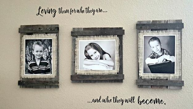 Magnolia Homes Gift Ideas - Rustic Frames - DIY Home Decor Inspired by Chip and Joanna Gaines - Fixer Upper Gifts - Do It Yourself Decorating On A Budget With Farmhouse Style Decorations for the Home