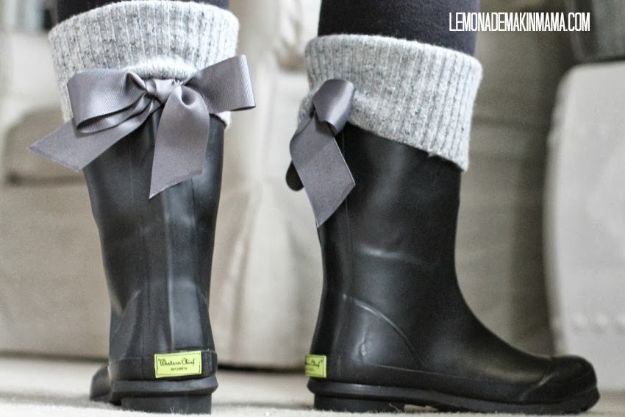 DIY Ideas For Your Boots | Update Basic Rain Boots l Cool Way to Update Old Leather Boot | Denim, Painting, Decorating Cowboy Boots