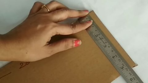 If You Can Measure And Cut Cardboard, You Can Organize Your Sewing Room for Free | DIY Joy Projects and Crafts Ideas