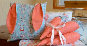 These 3 Easy Sewing Projects Are The Perfect Way to Decorate For Easter