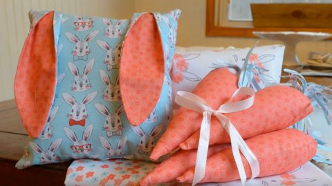 These 3 Easy Sewing Projects Are The Perfect Way to Decorate For Easter | DIY Joy Projects and Crafts Ideas