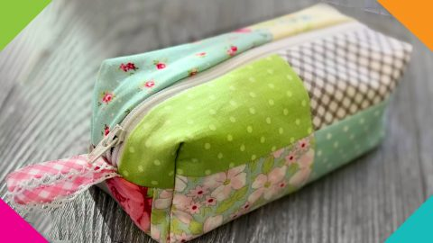 How to Make a Quilted Makeup Bag | DIY Joy Projects and Crafts Ideas