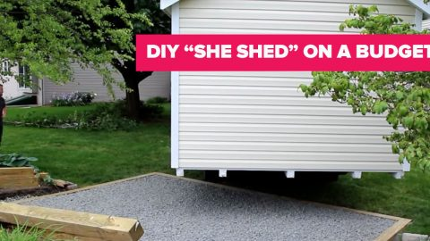 Get The She Shed Of Your Dreams, Even On A Limited Budget! | DIY Joy Projects and Crafts Ideas