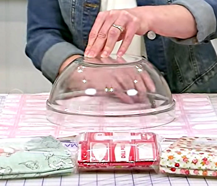 How to Make Fabric Bowl Covers - Sewing Tutorial