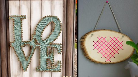 42 Rustic DIY Wall Art Ideas | DIY Joy Projects and Crafts Ideas