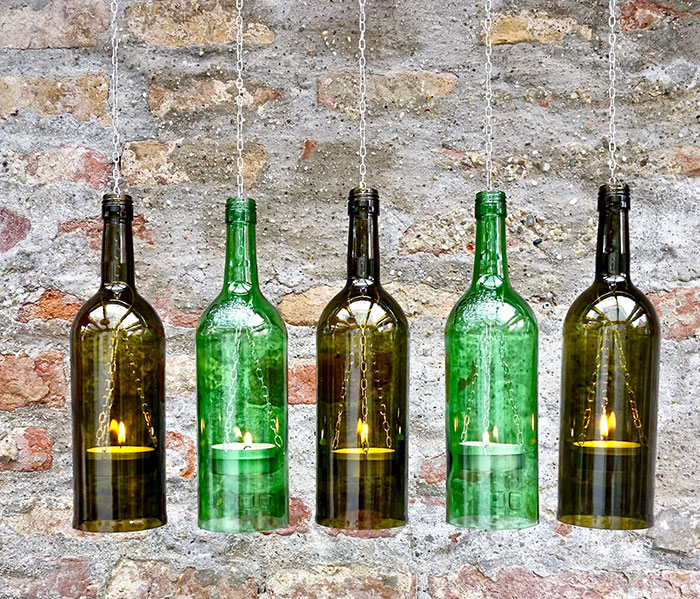 Turns Out Those Empty Wine Bottles Make Super Cool