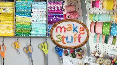 51 Crafty Ideas You'll Want To Make For Your Craft Room | DIY Joy Projects and Crafts Ideas