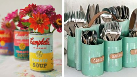 35 Creative DIY Ideas With Tin Cans | DIY Joy Projects and Crafts Ideas