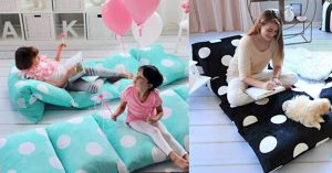Pillow Floor Beds Are An Item You've Always Needed But Never Knew Until Now