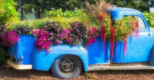 If Your Yard Doesn't Have One of These 45 Pickup Truck Planter Ideas Yet, You're Not Doing Things Right