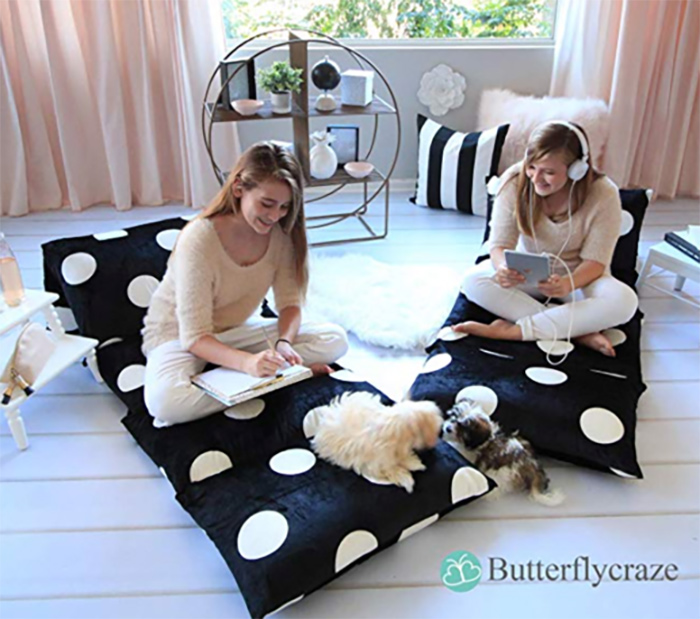 How To Make A Pillow Bed - Easy Sewing Tutorial Instructions
