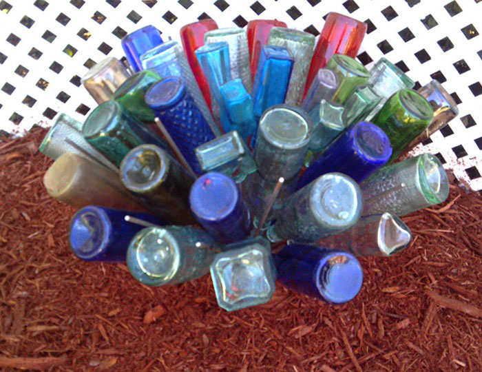 Southern Bottle Tree DIY - Medium Bottle Tree For Sale Holds 49 bottles - Etsy