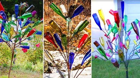 Bottle Trees : This Gorgeous Southern Lawn Decor Has Ancient Origins   DIY Joy Projects and Crafts Ideas