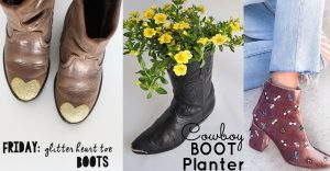 36 DIY Ideas for Your Boots