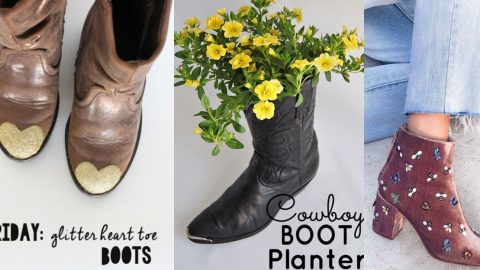 36 DIY Ideas for Your Boots | DIY Joy Projects and Crafts Ideas