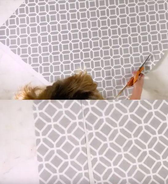 Homemade Window Shades With Custom Fabric DIY- Cheap Home Decor Ideas - No Sew Roman Shade Made From Mini Blinds