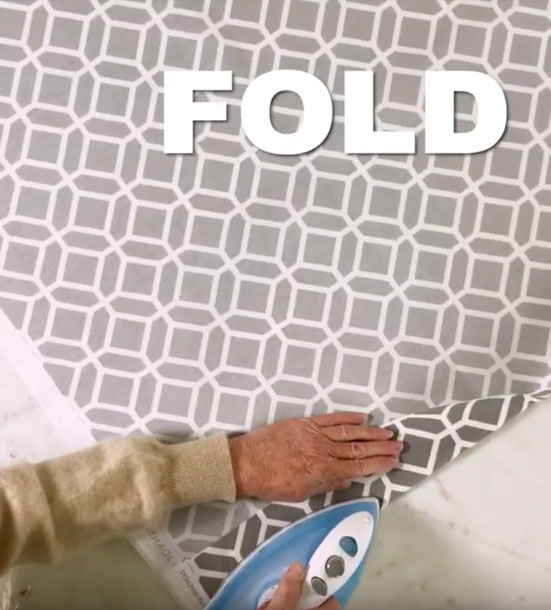 Video Tutorial and Instructions for Homemade Window Shades With Custom Fabric DIY- Cheap Home Decor Ideas - No Sew Roman Shade Made From Mini Blinds