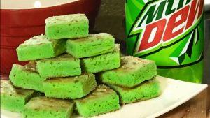 Mountain Dew Brownies Are Like A Little Taste of Heaven