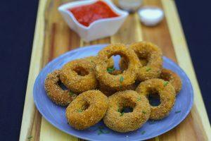 Mozzarella Stick Onion Rings Recipe For A Quick But Amazing Snack Idea