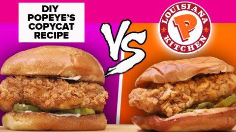 Popeye's Chicken Sandwich Recipe Copycat | DIY Joy Projects and Crafts Ideas