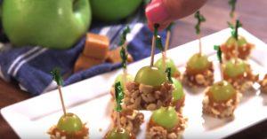 Caramel Apple Grapes Recipe