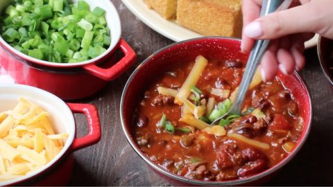 Crockpot Deer Chili Recipe | DIY Joy Projects and Crafts Ideas