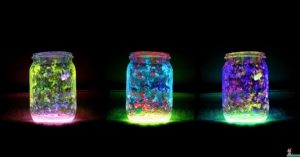 DIY Fairy Glow Stick Jars