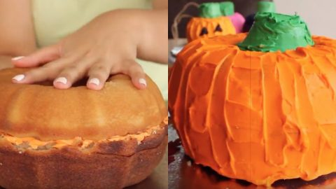 Halloween Pumpkin Cake | DIY Joy Projects and Crafts Ideas