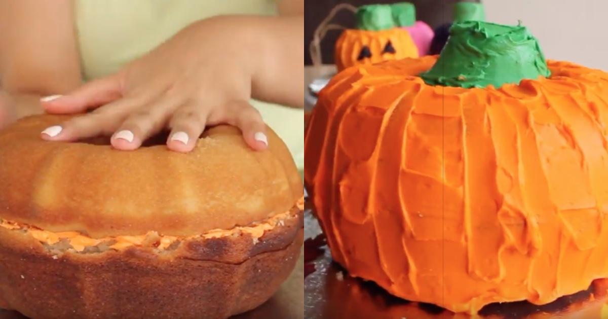 Pumpkin Cake Split