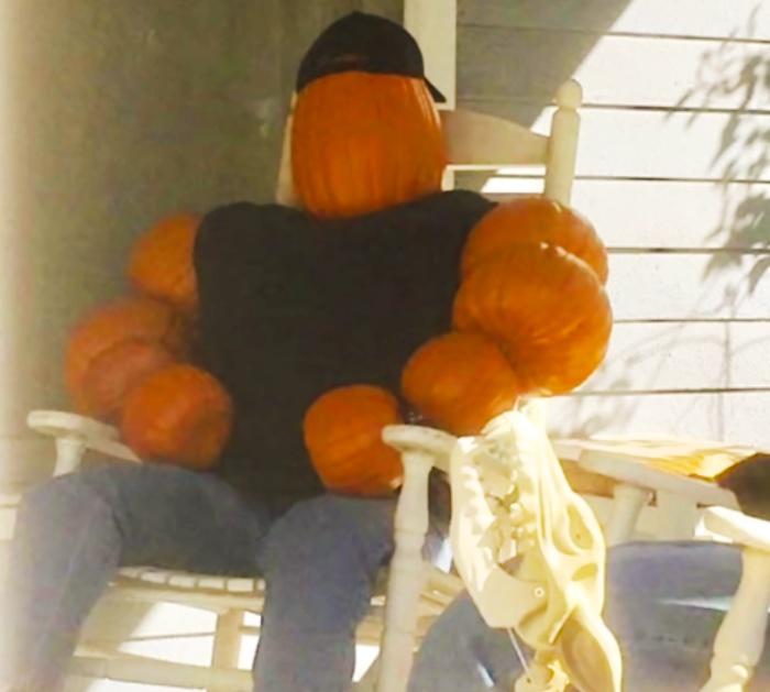 Pumpkin Strong Man