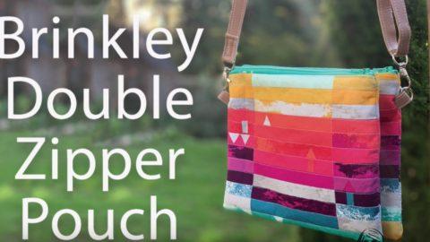 Brinkley Crossbody Bag Double Zipper   DIY Joy Projects and Crafts Ideas