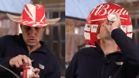 How to Make A Beer Box Cowboy Hat | DIY Joy Projects and Crafts Ideas