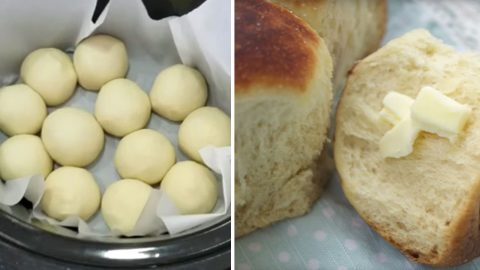 How To Make Dinner Rolls In A Crockpot | DIY Joy Projects and Crafts Ideas