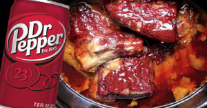 Dr. Pepper Crockpot Ribs