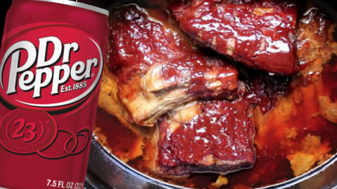 Dr. Pepper Crockpot Ribs | DIY Joy Projects and Crafts Ideas