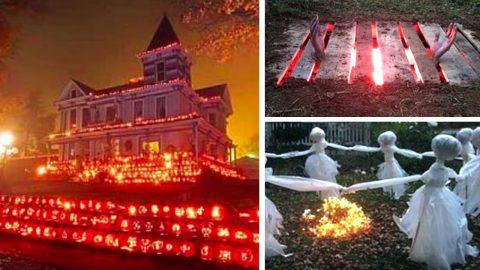 20+ DIY Halloween Decor Ideas   DIY Joy Projects and Crafts Ideas