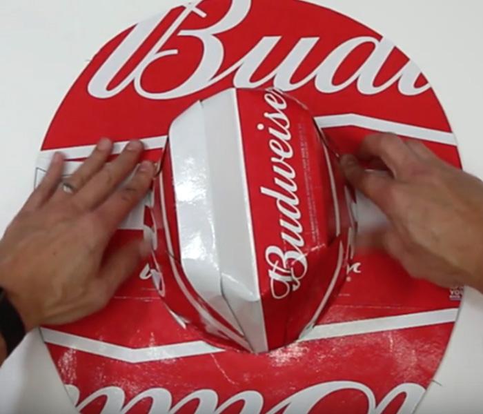 DIY Beer Box Hat Tutorial