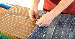 How To Make A DIY Rug From Old Jeans